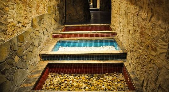 Besenova Ścieżka wodna Kąpiel Kneippa