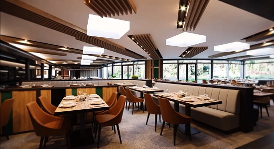 Restauracja hotelu Akvamarin